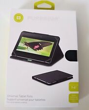 "PureGear 7-8"" Universal Tablet Folio Case Cover Protection Magnetic Closure NEW"