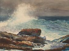 WINSLOW HOMER AMERICAN INCOMING TIDE SCARBORO MAINE ART PAINTING POSTER BB6550A