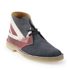 Botas Desierto Clarks Originals ** X ** Unión Jack Multi ** UK 10/9.5 Real