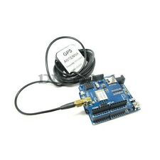 GPS Shield + GPS Antenna 3M Length for Arduino Mega Based on RoyalTek REB-4216