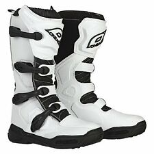2016 ONeal ELEMENT Off Road MotoCROSS Boot WHITE Size 9 FREE SHIP! Make Offer!