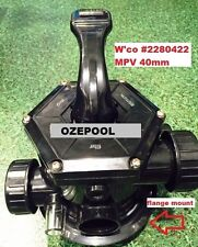 Waterco™ Multiport Valve Complete 40mm - CLAMP ON, Pool Sand Filter MPV GENUINE