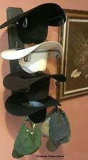 American Made Cowboy Hat Rack with Stars Powder Coated Camo