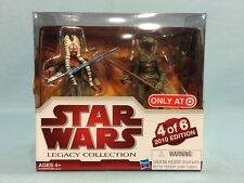 Star Wars Legacy Collection Geonosis Arena Shaak Ti & Geonosian Warrior MISP