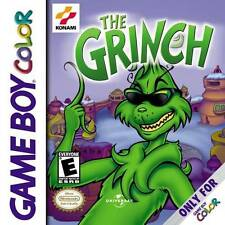 The Grinch - Game Boy Color Gameboy