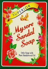 75GM, Mysore Sandal Soap With 100% Pure Sandalwood Oil For Skin Care (Pack Of 6)