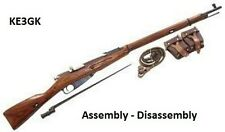 Mosin Nagant  Rifle Disassembly and Reassembly * Curio and Relic * CDROM * PDF