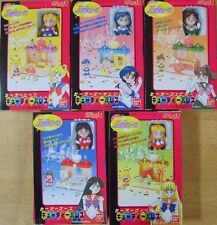 Bandai Sailormoon Moon Mars Jupiter Mercury Venus & Palace Set of 5 New