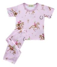 Gardening Bear, Pajama Set, Pink Horse, XXS 1-2 yrs old Girl's Wear
