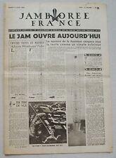 Jamborée France 6 - 21 Aout 1947 ; Journal N° 4 du 09 Août  Scouts P JOUBERT
