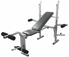 Weight Training Bench folding adjustable Multi Gym Fitness Chest & Leg Exercise