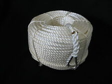 100MTRS X 14MM NYLON ANCHOR ROPE WITH STAINLESS STEEL THIMBLE