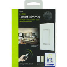 NEW GE Z-Wave Wireless Smart Home Paddle Dimmer 12724 SmartThings Approved IRIS
