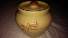 AMERICAN POTTERY MRS FIELDS COOKIE JAR By Master Potter Raymond Harris