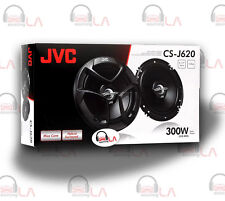 "JVC CS-J620 CAR AUDIO STEREO 6.5"" 2-WAY POWER SPEAKERS SET PAIR 6-1 /2"" CSJ620"