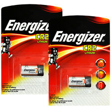 2 x Energizer Lithium CR2 batteries 3V CR17355 EL1CR2 DLCR2 Photo Camera EXP2026