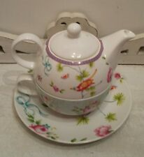 Tea for one set shabby chic by The English Table