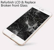iPhone 6 cracked broken LCD glass screen refurbish service