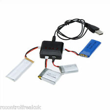 4in1 USB Battery Charger For Hubsan, WLtoys, MJX,  Syma X5C, 0R494 WSX