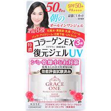Kose Japan Grace One Rich Collagen & Astaxanthin Gel Cream 100g SPF50+ for 50s