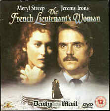 THE FRENCH LIEUTENANT'S WOMAN -  Jeremy Irons and Meryl Streep - DVD