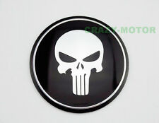 Motorcycle Skull Round Fuel Tank Fairing Decal Sticker Badge Emblem For Yamaha