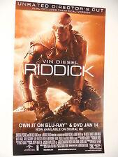 RIDDICK: RULE THE DARK - Movie Poster - Flyer - 11x17 - VIN DIESEL
