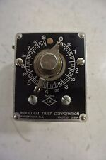 Industrial timer 115 Volt 10 Amp 0 to 8 Hours Model: CSF-8 HR