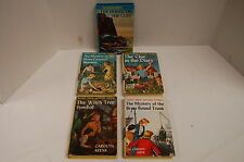 4 Nancy Drew Mysteries and 1 Hardy Boys Series 1940s, 50s, 60s