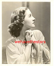Vintage Norma Shearer GORGEOUS GLAMOUR '35 MGM Publicity Portrait