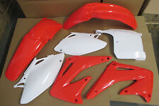 POLISPORT PLASTIC KIT CRF450 CRF450R  FENDERS SCHROUDS  PLATES 2002 2003