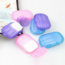 4box Washing Slice Sheets Portable Hand Bath Travel Scented Foaming Paper Soap K