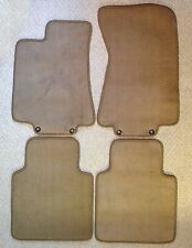 1987 - 1992 BMW E30 3 Series CONVERTIBLE Floor Mats CUSTOM MAT COLORS + HEELPAD