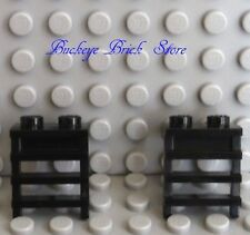 Lego BLACK PLATE Modified with Ladder, Lot/2