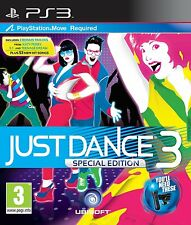 Just Dance 3 SPECIAL EDITION (ps3) PEGI rating: età 3 & Over nuovo sigillato in fabbrica