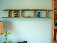 Display Ladder or Shelf-Aged Rustic Brown USA Made-Ships Assembled
