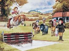 Thelwells Pony Club cross stitch pattern