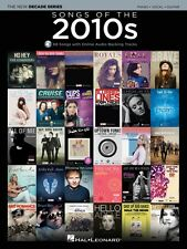 Songs of the 2010s Sheet Music The New Decade Series with Online Play- 000151836