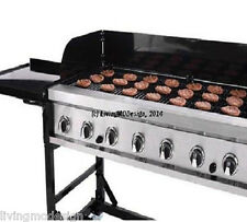 Commercial Grade Portable LP Gas 116,000 BTU Big Event BBQ Grill w/ Cover