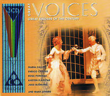 Great Voices 3CD-Box NEU & OVP Callas, Caruso, Ponselle, Flagstad, Björling...