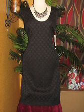 ADRIANNA PAPELL NWT 16 $140 black elegant cocktail party woman's dress