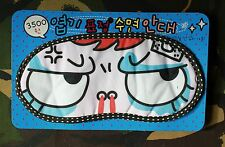 SNOTTY NOSE DONT WAKE ME UP KAWAII CUTE EYE MANGA FACE SLEEP EYE BEDTIME MASK