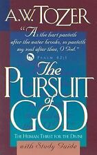 The Pursuit of God with Study Guide with Book(s), Graf, Jonathan, Tozer, A. W.,