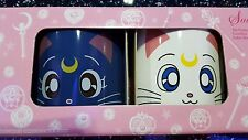 Sailor Moon 20th Anniversary - Luna & Artemis Mug/Cup Set - Rare