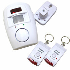Home Security System 2 TELECOMANDO WIRELESS CON SENSORE PIR INFRAROSSO ALLARME SENSORE DI MOVIMENTO