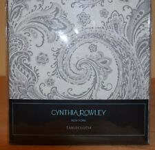 "CYNTHIA ROWLEY TABLE CLOTH   70"" ROUND"