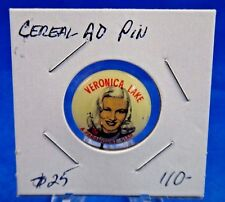 """1953 Roy's Brand Post's Cereal Advertising Pin Pinback Button 15/16"""""""