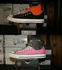 Converse Chuck Taylor Layer Up High Sz 6 7 8 9 Black Orange Pink Gray Shoes