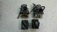 1975 honda cb200 twin H1137~ carbs carburetors set pair