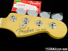 2016 Fender American Standard Jazz BASS NECK & TUNERS USA Modern, Maple*
